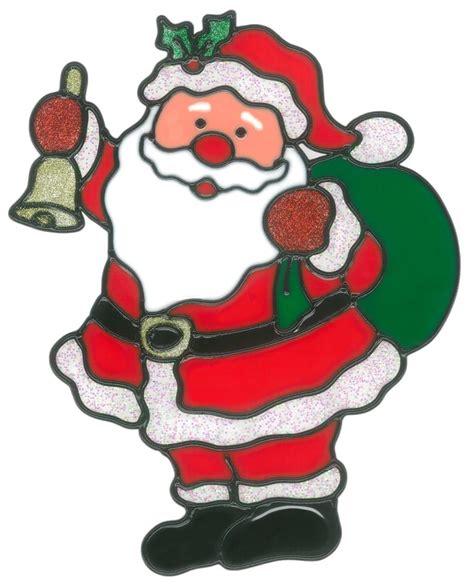 Fensterbilder Weihnachten Für Kinder by Magicgel Fensterbilder Weihnachten Nikolaus Mit Sack 19