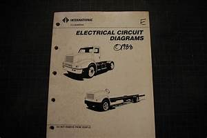 International Truck Navistar Electrical Circuit Wiring Diagrams Schematics 1988