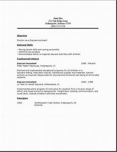 view all images in cv care free resume templates resume With childcare resume template