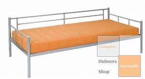 Tagesbett Metall Dänisches Bettenlager : jugendbett r60 metall bett tagesbett 90x200 cm silber lackiert ~ Bigdaddyawards.com Haus und Dekorationen