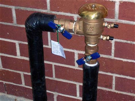 cmg sprinklers and drains above ground backflow valve info