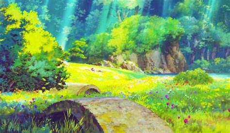 Animated Scenery Wallpapers - the secret world of arrietty images the secret world of