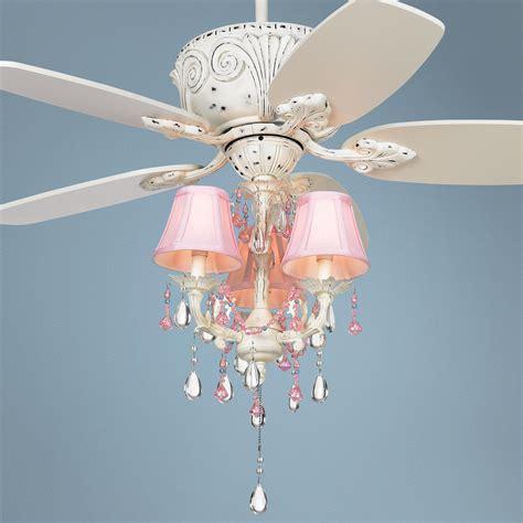 casa deville pretty  pink pull chain ceiling fan