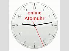 Atomuhr genaue Uhrzeit Atomuhr für Deutschland