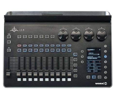 work pro lightshark ls  dmx lighting console