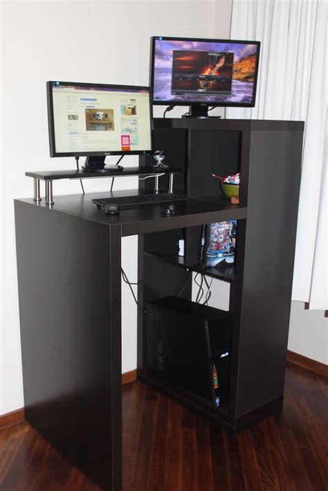 bureau ordinateur en coin cuisine decoration meubles ordinateurs meuble de bureau