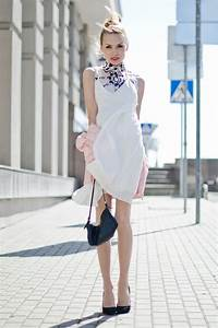 Cool Leather Jacket Designs 16 Gorgeous White Dress Outfit Ideas For Spring Summer