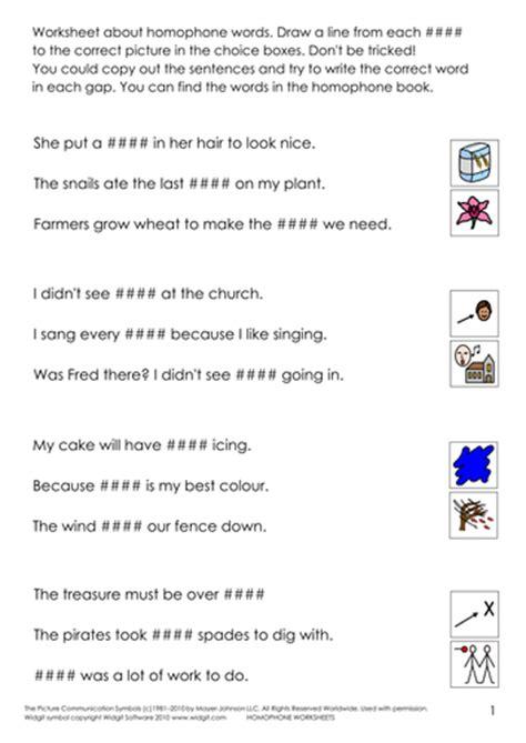 homophones homonyms homographs illus by