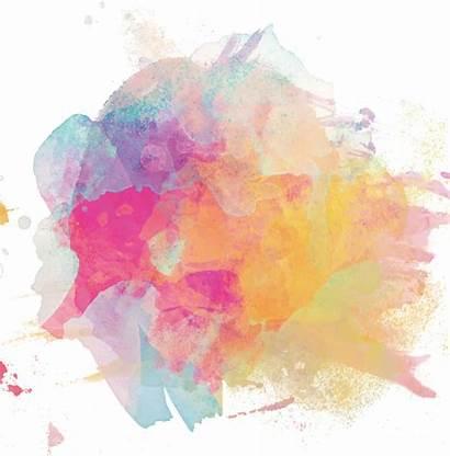 Watercolor Paint Painting Splash Clipart Sticker Ink