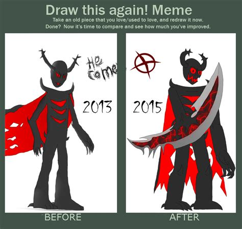 Zalgo Meme - zalgo before and after by clivestation on deviantart