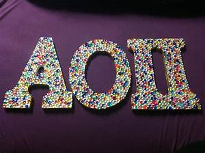 17 best images about aoii letters on pinterest chi psi With aoii wooden letters