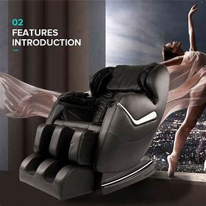 2019 Real Relax Full Body Shiatsu Massage Chair Recliner