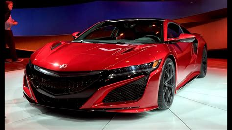 2016 acura nsx 2015 detroit auto show fast lane daily