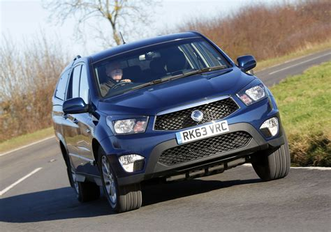 2014 SsangYong Korando Sports Pick-Up - HD Pictures ...