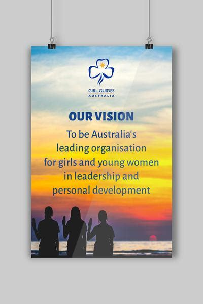 vision statement poster ggq guide supplies