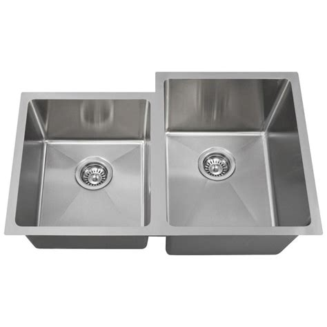 mr direct kitchen sinks reviews mr direct undermount stainless steel 31 in bowl 7049