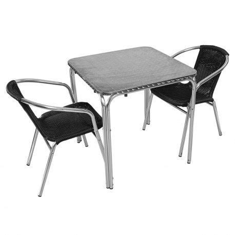 table et chaise pour restaurant table et chaise restauration aluminium mobeventpro