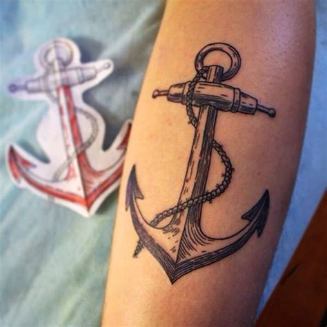 125 Stunning Anchor Tattoos (with Rich Meaning