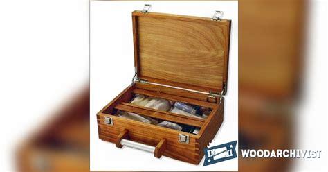 wooden  aid box plans woodarchivist