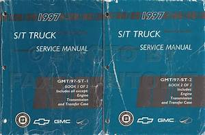 1997 Chevrolet S 10 Pickup And Blazer Shop Manual 2 Volume