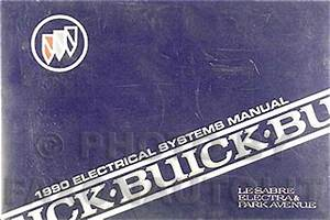 1990 Buick Electrical Manual Lesabre Electra Park Avenue