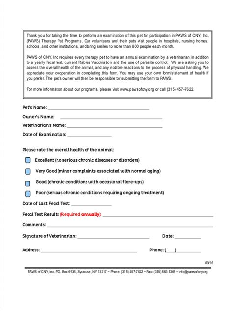 FREE 9+ Health Screening Forms in PDF   Ms Word