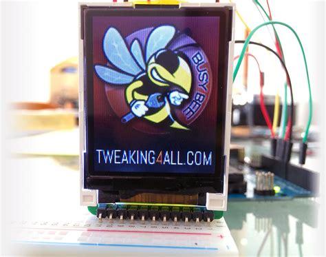 tweaking4all sainsmart 1 8 quot tft arduino color lcd display