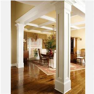 Indoor decorative columns iron blog for Decorative interior wall columns