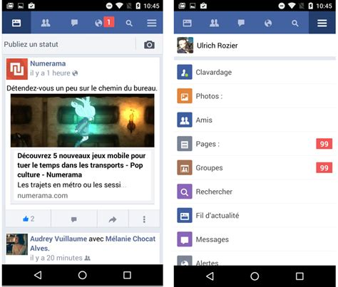 facebook notifications telecharger java 2016
