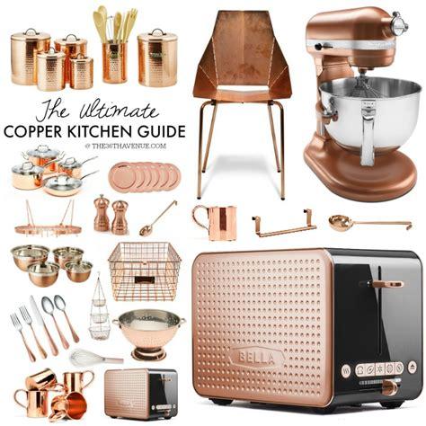 copper kitchen decor guide   avenue