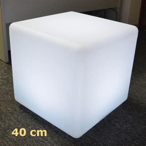 cube lumineux 40 cm mobilier lumineux 224 leds sur grossiste chinois import
