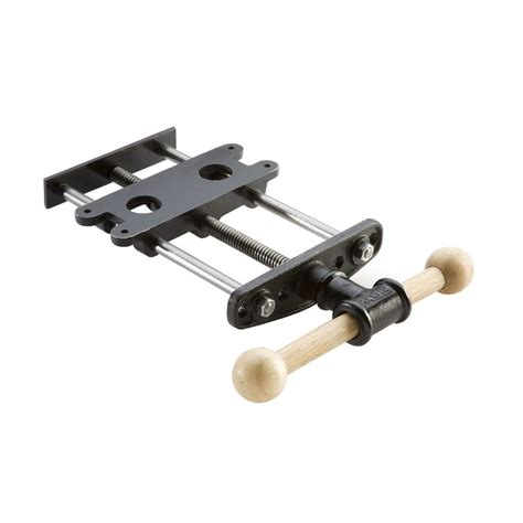 heavy duty quick release front vise rockler woodworking