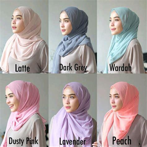jual hijab jilbab pashmina ceruti  lapak tutorial hijab lenyscraft