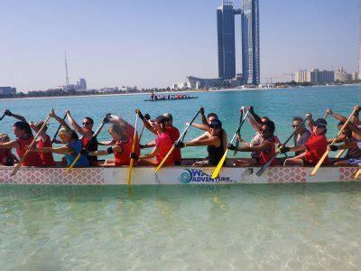 Dragon Boat Racing Abu Dhabi by Capital Dragons Organization Abu Dhabi
