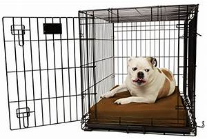 top rated indestructible dog crates in 2018 us bones With big barker dog crate pad