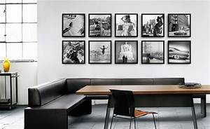 3 Bilder Nebeneinander Aufhängen : bilder aufh ngen das perfekte arrangement whitewall ~ Lizthompson.info Haus und Dekorationen