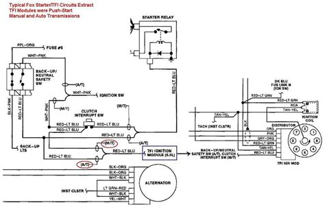 1982 Ford Ignition Module Wiring by Black Vs Grey Tfi Module Mustang Forums At Stangnet