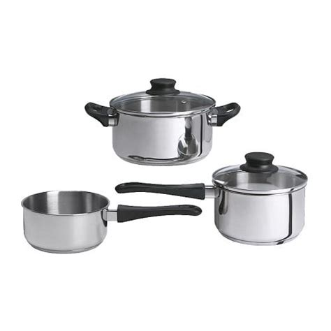pot cuisine annons 5 cookware set ikea