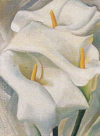 calla reproduction georgia o keeffe calla lilies 1924