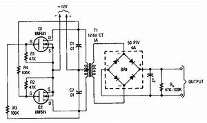 Under 12v To 220v Boost Converter Design