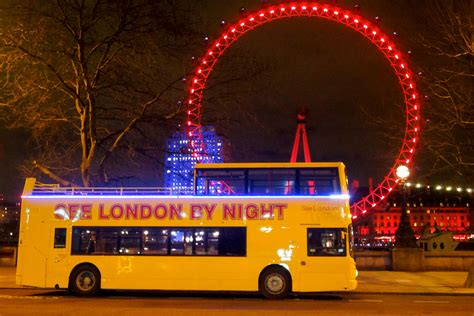 See London By Night Bus Tour For Two Lastminute M