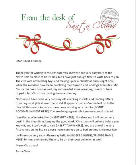 send  child  santa letter   north pole