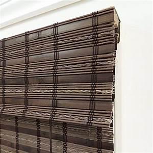 lewis hyman 0215508 havana bamboo roman shade 70 inch With 26 inch wide roman shades