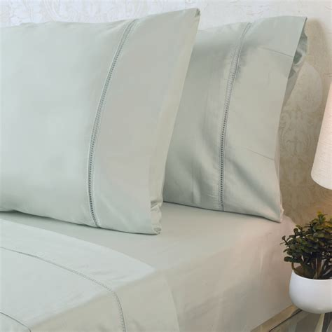 tc cotton sateen sheet set home collections