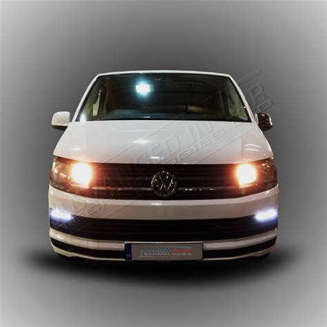 daytime running lights vw transporter t6 led drl daytime running light retrofit