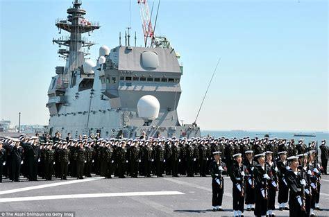 海外 日本の海上自衛隊が戦後最大の護衛艦 いずも を就役 これはデカい 海外の反応 海外の万国反応記 海外の反応
