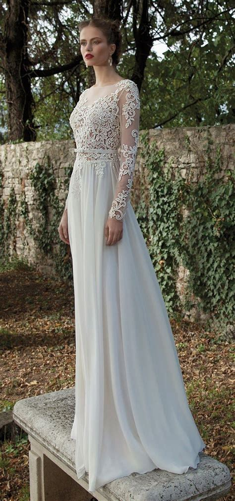 Long Sleeve Wedding Dresses Perfect 20 Gowns For Fall And