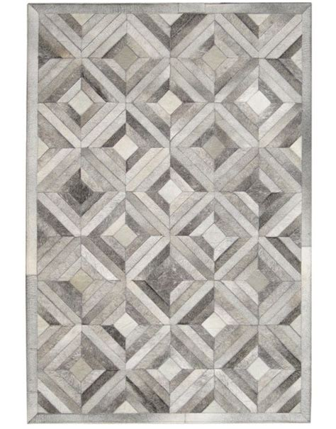 Cowhide Patchwork Rug Gray by Grey Cowhide Rug Patchwork Wildlifewonders
