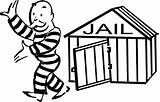 Jail Cell Draw Clipart Clipartmag sketch template