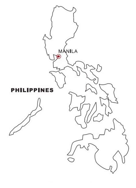 philippine map coloring color area
